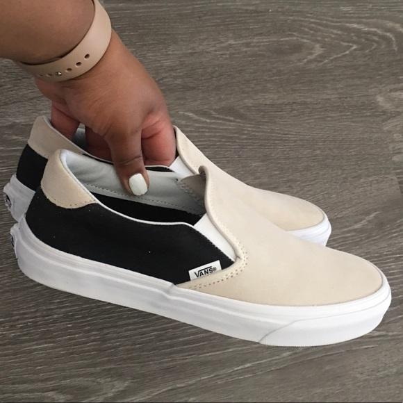 Vans Shoes | Brand New Color Block Slip